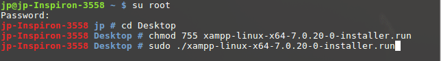 install-xampp-using terminal
