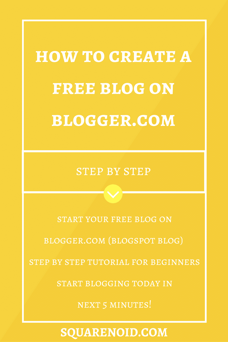How to Start a Blog on Blogger.com