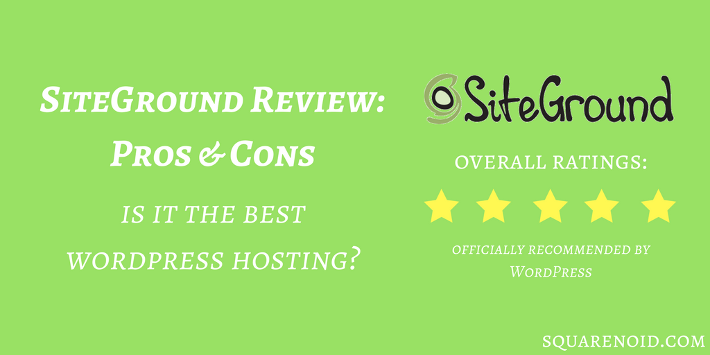 Benefits Of Siteground Hosting
