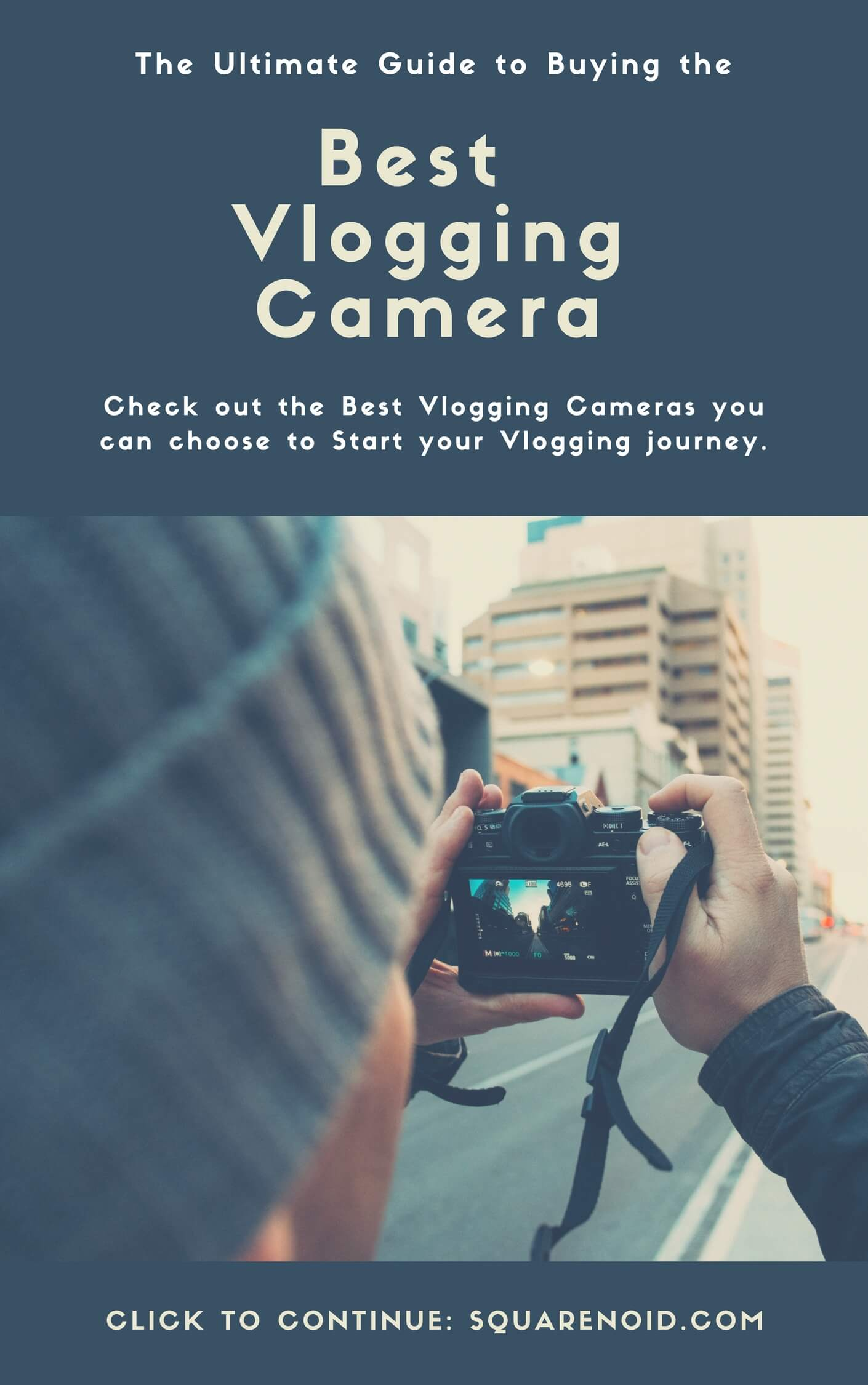 Best vlogging cameras for vloggers