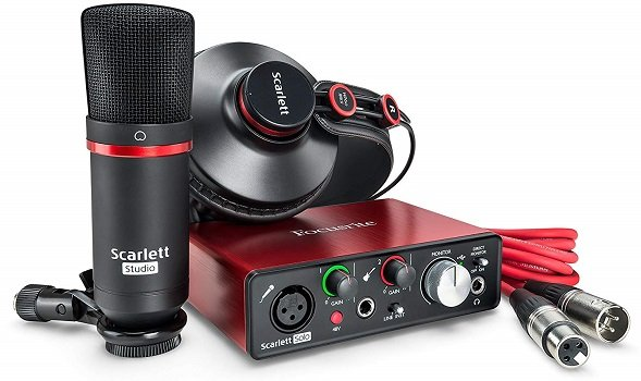 Focusrite scarlett studio pack