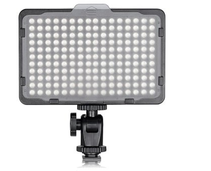 Tolifo photo studio 176 led ultra bright dimmable on camera video light
