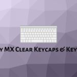 Cherry MX Clear Keycaps & Keyboard