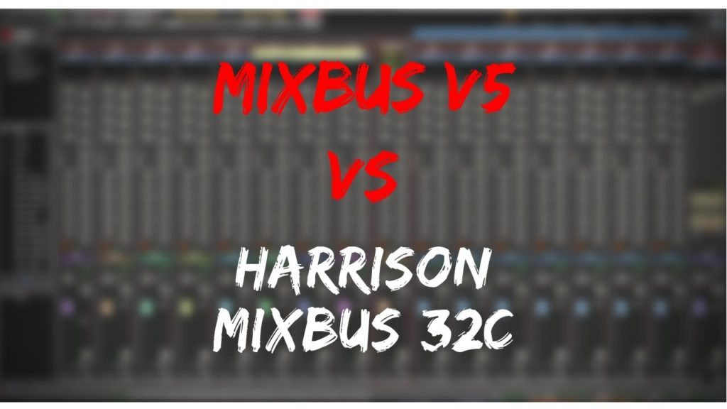 Harrison Mixbus Vs 32c